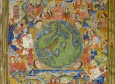 Medieval Arabic Illustration of World