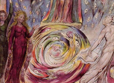 Illustration from William Blake's Dante