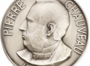 Medal depicting Pierre Chauveau