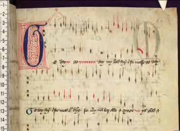 Medieval musical notation