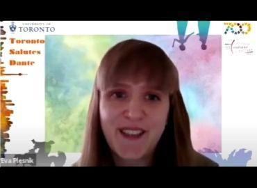 Eva Plesnik reads Dante in Slovak