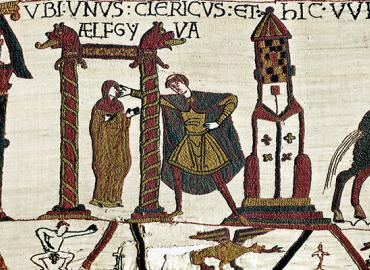 Vignette from the bayeux tapestry